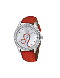 Unisex Crystal Zodiac Horoscope Watch-Leo