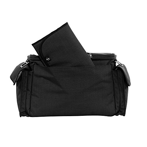 JuJuBe Clone Multi-Functional Crossbody Messenger/Diaper Dad Bag, XY Collection - Carbon
