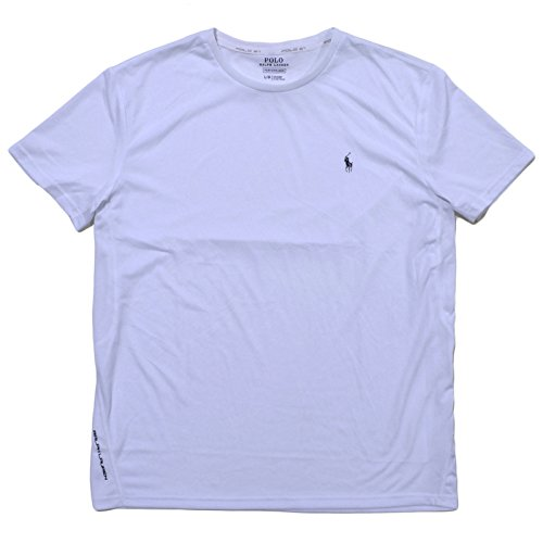 Polo Ralph Lauren Mens Performance Jersey T-Shirt (Pure White ,X-Large)