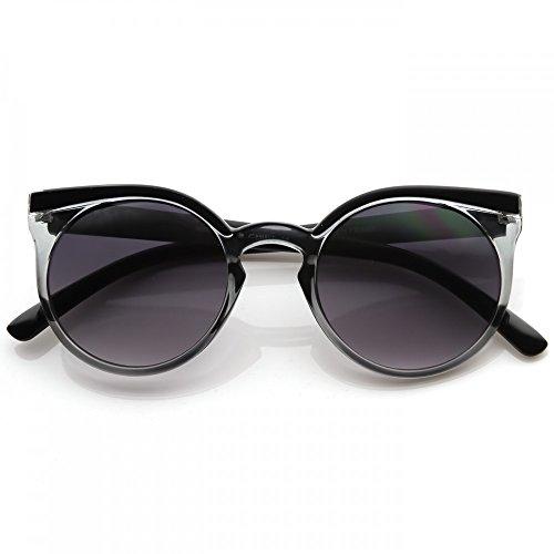 Cristal mod de Lunettes RIHANNA la RONDE de soleil Noir cool mode RONDES style vintage des Kiss FEMMES rockabilly 8tFaw