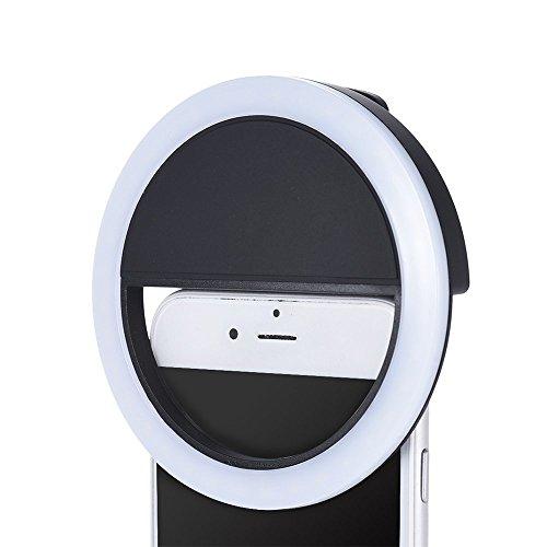 Efanr Portable Mini 16 Led Selfie Enhancing Dimmable