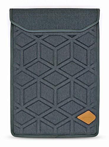 82c0c19d2718 Lymmax Laptop Sleeve 15.6 Inch, Shockproof Laptop Case Vertical Sleeve Bag  with Zipper Pocket, Waterproof EVA Carrying Bag with Padded Handle - Dark  ...