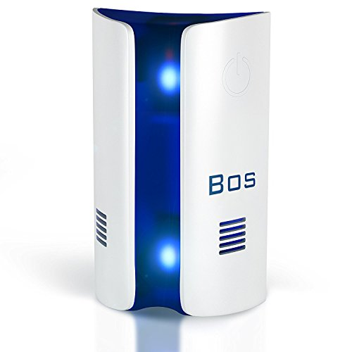 [2018 UPGRADED] Ultrasonic Pest Repeller Control by Bos, Electromagnetic Plug in home indoor Repellent, Get rid of Mosquito, Flea, Ant, Rats, Cockroackes, Roackes, Rodent, Fruit Fly, Insect