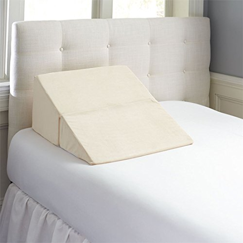 Contour Products Folding Bed Wedge Pillow, 7 Inches X 24 Inches X 24 Inches by Contour Products