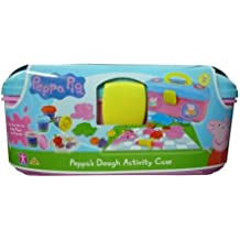 New Peppa Pig Picnic Activity Creative Play Dough Set With Carry Case Age 3+