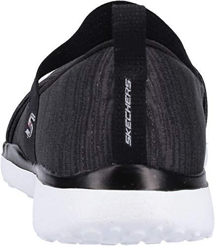 bkw Soul Skechers tender Infilare Microburst Nero Donna Sneaker w0EErgnBq