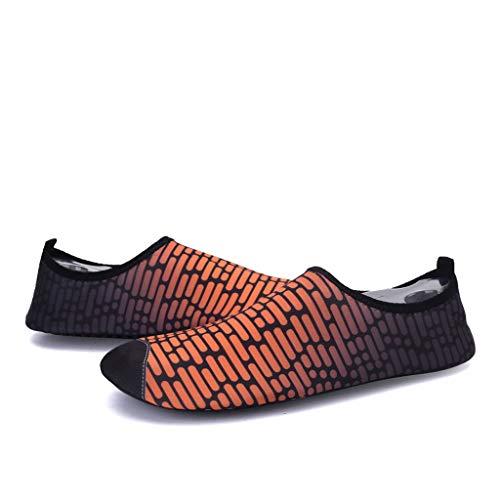Coco-Z 2019 New Summer Leisure Couple Quick Dry Aqua Socks Barefoot Outdoor Beach Swim Yoga Water Shoes ()