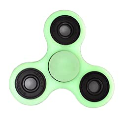 D-JOY Tri-Spinner Fidget Toy Hand Spinner Camouflage, Stress Reducer Relieve Anxiety and Boredom Camo ( Fluorescence )