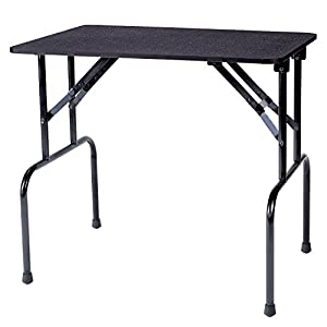 outlet Master Equipment Steel Non-Slip Matting Grooming Able Pet Table