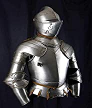 Medieval Knight 18 Gauge Steel Plate Battle Warrior Full Body Armour Suit