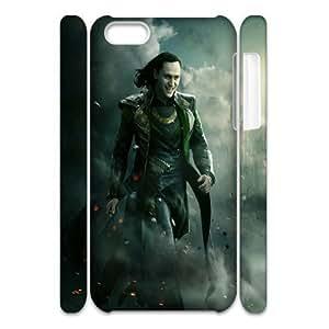 Popular Diy Loki Thor The Dark World Apple Iphone 5C 3D Protection Hard Case MK889707