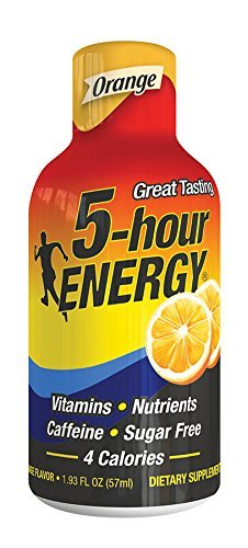 5 Hour Energy Orange, Pack of 60 by 5 Hour Energy
