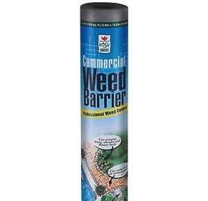 Easy Gardener 2508 Commercial Grade Landscape Fabric - 4-Foot x 50-Foot PackageQuantity: 1 Outdoor, Home, Garden, Supply, Maintenance