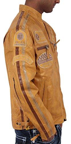 en Urban JLI 3 Look Hombre Niño Real Aviatrix disponible Retro Amarillo para Vintage piel Bikers diferentes hombre modo nbsp;colores Zw6EEvq