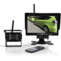Pyle PLCMTR76WIR Wireless Backup Camera & Monitor Video System 7 Display