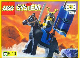 LEGO System Set #6013 Samurai Swordsman