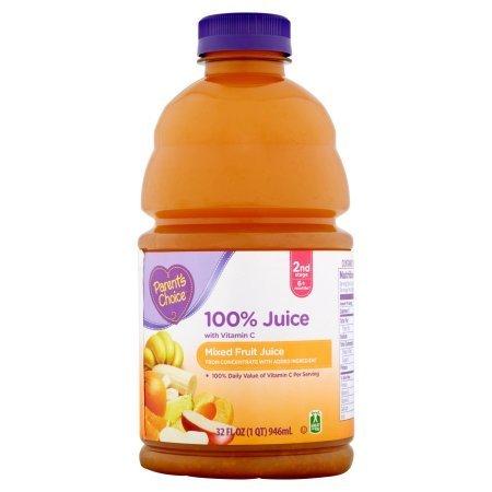 Parent's Choice Mixed Fruit Juice - Pack of 4 by Parent's Choice (Image #1)