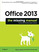 Office 2013: The Missing Manual Front Cover