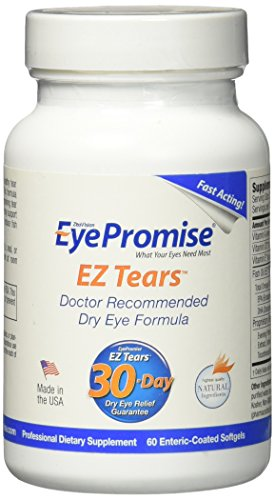 EyePromise Tears Eye Vitamin Ingredients product image