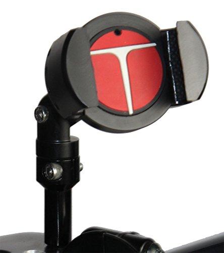 Techmount 4-31002-B-TECHGRIPPER - Harley-Davidson Motorcycle Mirror Mounting Kit - Black - Techgripper – Universal Smartphone and GPS Gripper