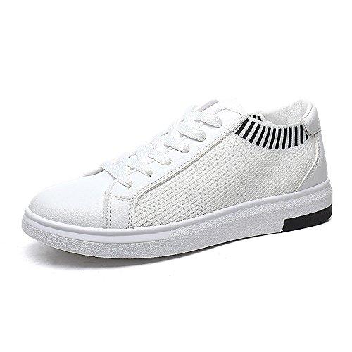 Eu39 À Choisir 5 Femmes cn40 Mesh Taille Plat De 01 Confortable Chaussures Respirant uk6 Fond Trois Blanc Nan Été Couleurs Couleur CPnTxHq