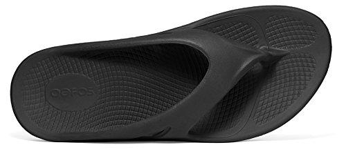 a9ba4473d3d6 OOFOS OOriginal Unisex Thong Sandals (Bonus Free Red Rubber Foot Roller  Massager)