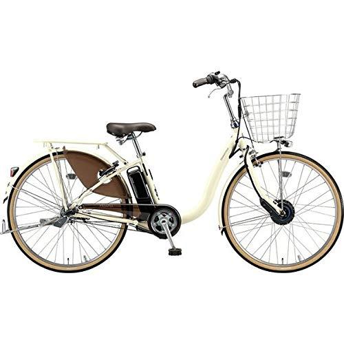 BRIDGESTONE(ブリヂストン) 2019年モデル フロンティアデラックス F6DB49 26インチ 電動アシスト自転車 専用充電器付 B07HWY7X37 E.Xクリームアイボリー E.Xクリームアイボリー