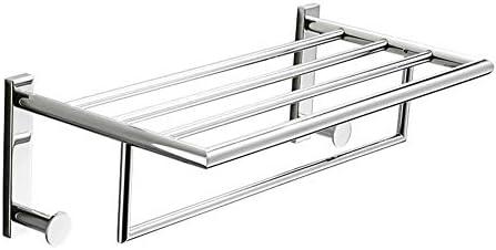 バスルームアクセサリー 浴室タオルのための304ステンレス鋼の壁の台紙のバスタオル掛け