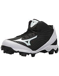 Mizuno (MIZD9) Men's 9-Spike Advanced Franchise 9 Molded Baseball Cleat-Mid Shoe