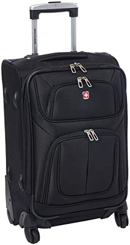 SwissGear Sion Black, 21 Carry-On Spinner