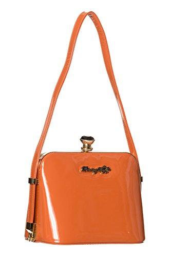 Banned Blooms Banned Red Apparel Dark Apparel Handbag BqCv0S