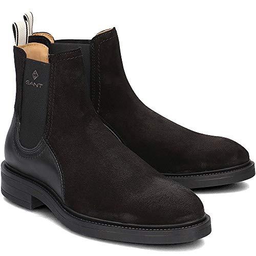 Schwarz Martin Gant Homme Chelsea black G00 Boots ABqF0qwI