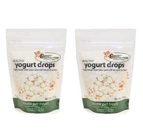 Yogurt Drops 100 g. (2 Pack) - Treat for Sugar Gliders, Prairie Dogs, Monkeys, Squirrels, Guinea Pigs, (Dog Yogurt Drops)
