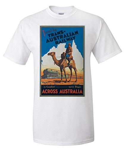 trans-australian-railway-artist-northfield-australia-vintage-poster-white-t-shirt-xx-large