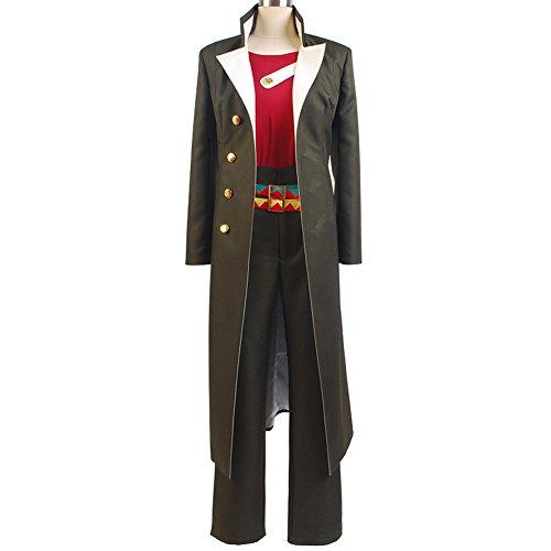 Price comparison product image Ya-cos JOJO'S BIZARRE ADVENTURE Stardust Crusaders Jotaro Kujo Cosplay Costume