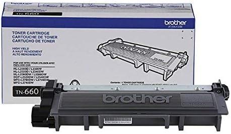 Amazon.com: Cartucho de tóner Brother TN660, tóner negro de ...
