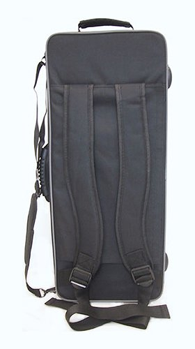 SKY Lightweight Case for Trumpet, Backpackable, Black by Sky Music (Image #5)
