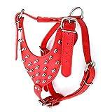 cymbilanfranX Cool Studded Rivets Adjustable Faux Leather Pet Dog Puppy Straps Vest Decor