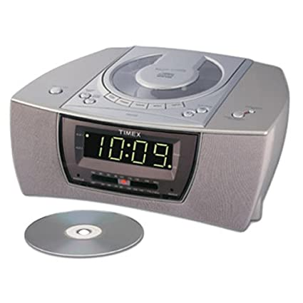 amazon com timex am fm cd clock radio t608t discontinued by rh amazon com