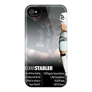 Saraumes JoAWlLM2812WCLdk Case Cover Iphone 4/4s Protective Case Oakland Raiders