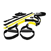 TRX PRO Suspension Trainer System Design & Durability| Includes Three Anchor Solutions, 8 Video Workouts & 8-Week Workout Program