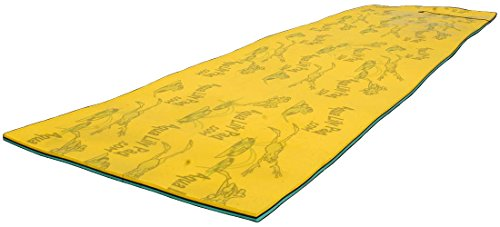Maui Mat (by Aqua Lily Products, Floating Foam Fun Pad Designed for Water Recreation and Relaxing (20ft) 1 MAXIMIZE YOUR FUN: Enjoy the lakes, rivers, oceans and pools you love in a brand new way! BUOYANT: Measures 6 feet x 20 feet - Supports up to 1,300 pounds! So pile the family on, or stretch out and enjoy it to yourself. This pad will keep you floating! DURABLE: Our specially designed 2-layer cross linked foam material with patented FlexCore Technology measures only 1-3/8 inches thick, is designed to last even the most sun-filled summers. So get wet and cool off on the safest and most comfortable floating island.