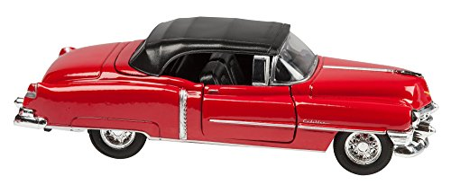 Model Car - Toy Car, Scale Model Red Cadillac Collectible (Scale Model Collectors)