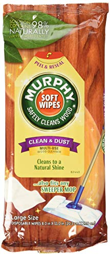 Polishing Oil - Murphy Oil Soap Soft Wipes, Wet, Disposable, Large Size, 18 Count (Pack of 3)