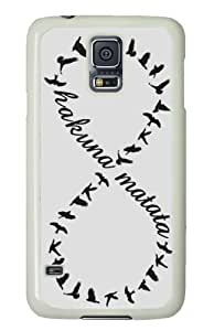 Hakuna Matata, infinity Samsung Galaxy S5 case,personalized designed for Samsung Galaxy S5