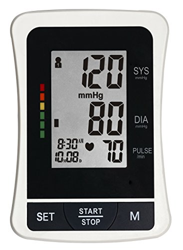 ClinicalGuard-BP-1305-Large-LCD-Blood-Pressure-Monitor-with-Memory-WHO-Indicator