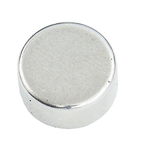 Connex DY7100002Magnet Neodymium Round 3.5kg, 10pieces, 1x 1x 0.5cm