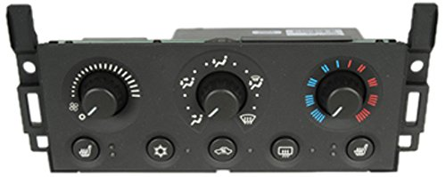 ACDelco 15-73557 GM Original Equipment Heating and Air Conditioning Control Panel with Rear Window Defogger Switch -