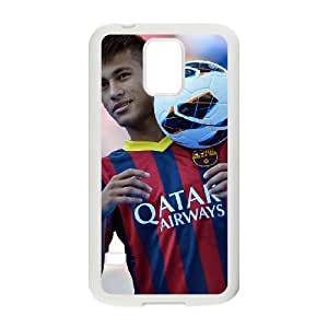 Neymar Samsung Galaxy S5 Cell Phone Case White xlb-245218