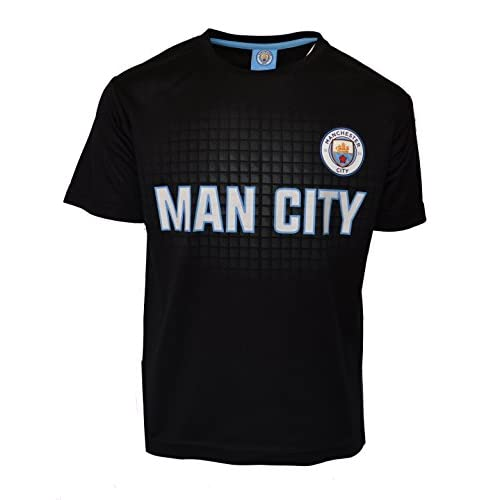 brand new 431ba c1ed4 durable service Manchester City Soccer Jersey Black Youth ...